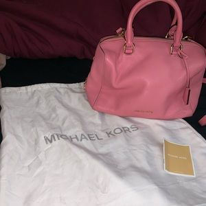 Michael Kors Small Pink Crossbody